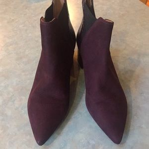 Klub Nico burgundy leather boots